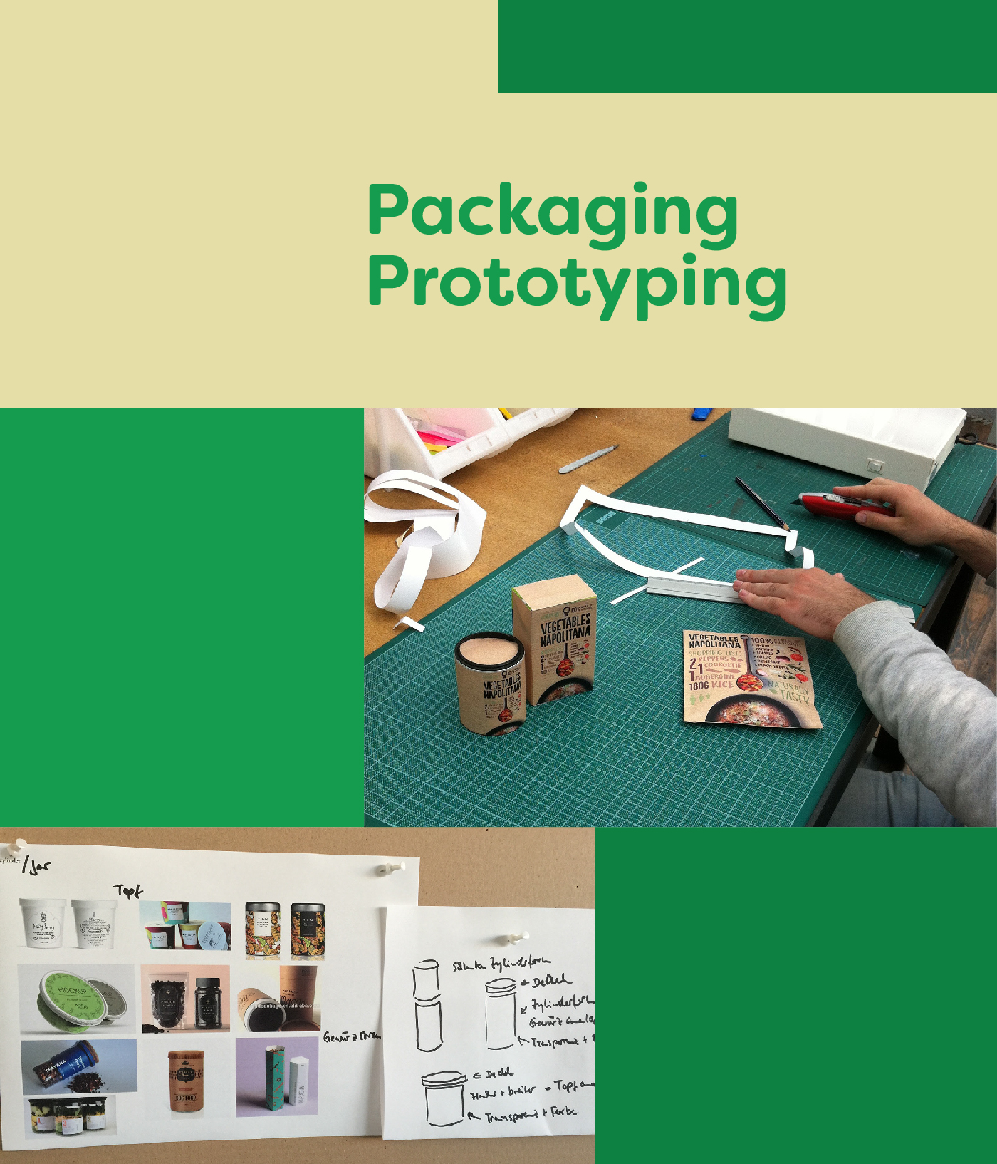 Packaging prototyping
